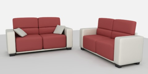 Either/Or Convertible Sofa