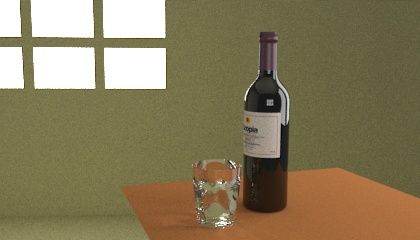 Wine Bottle Resources Free 3d Models For Blender