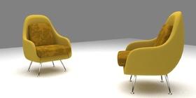 Modern armchair (Armchair La Fonda)