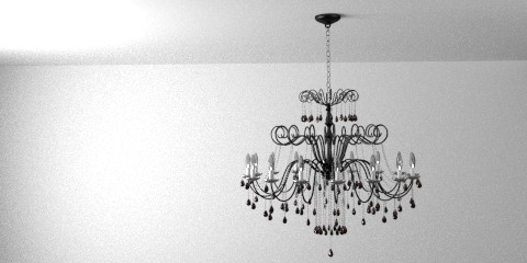 Chandelier lamp – Resources – Free 3D models for blender ...