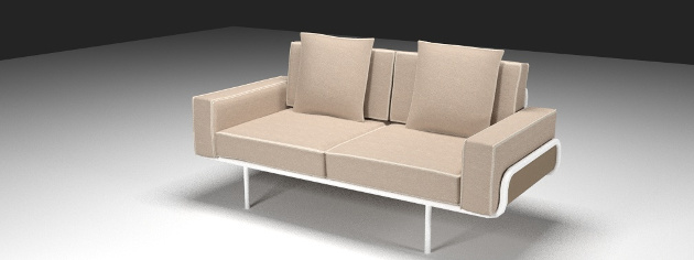 Fabulous Sofa Resources Free 3D Models For Blender Sweethome3D Machost Co Dining Chair Design Ideas Machostcouk