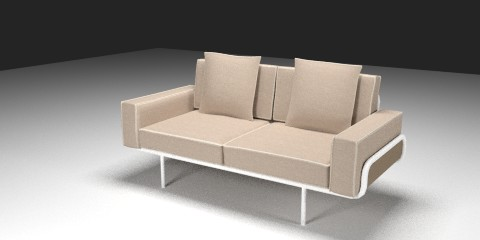 ikea three seat sofa resources free 3d models for blender sweethome3d and others. Black Bedroom Furniture Sets. Home Design Ideas