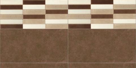 Brown wall tiles – Resources – Free 3D models for blender ...